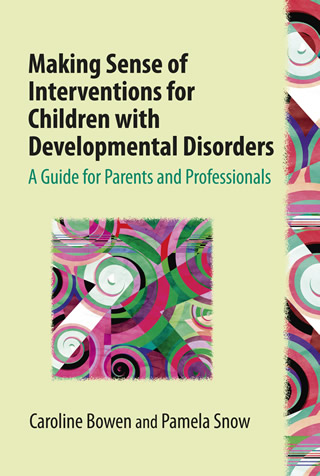 Book cover of Making Sense of Interventions for Children with Developmental Disorders