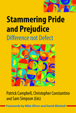 Book cover of Stammering Pride and Prejudice
