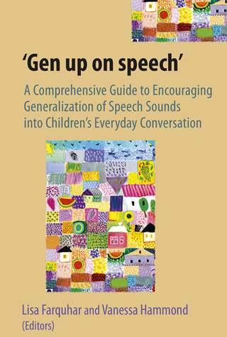Book cover of A Comprehensive Guide to Encouraging Generalisation of Speech Sounds into Everyday Conversation