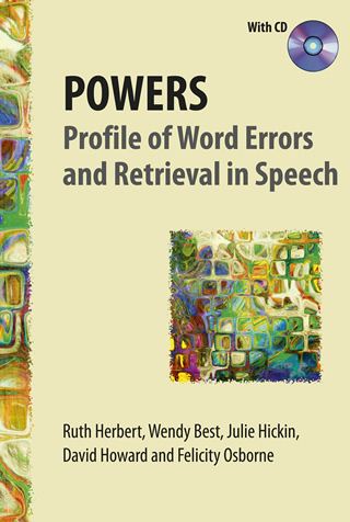 Book cover of POWERS: Profile of Word Errors and Retrieval in Speech