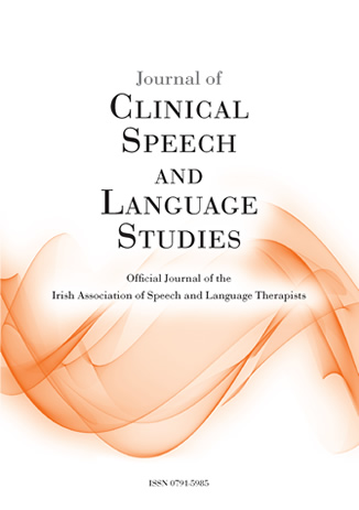 Book cover of The Official Journal of the Irish Association of Speech and Language Therapists